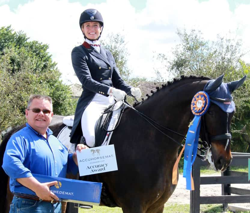 Adrienne Lyle and Charlotte Jorst Claim Accuhorsemat Accuracy Awards at Adequan Global Dressage Festival