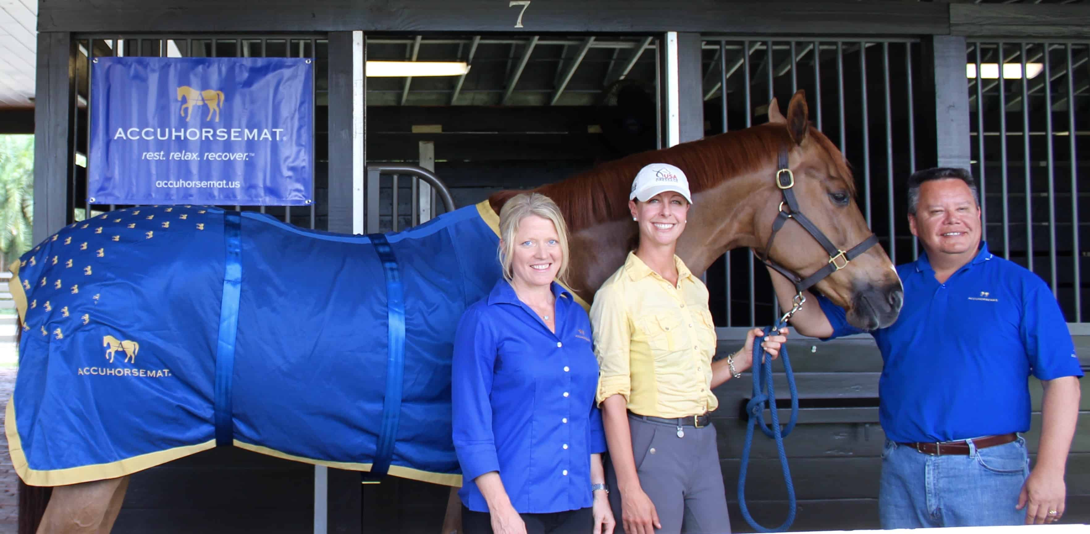 New Product From Sweden: Accuhorsemat Offers Innovative Equine Acupressure