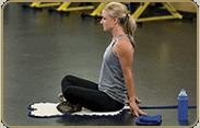 acupressure-mat-position: glutes, sitting