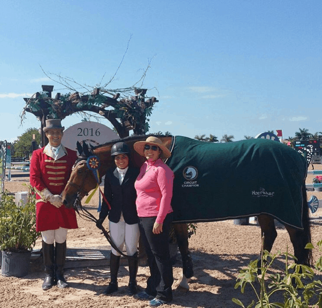 Accuhorsemat Wraps Up Summer Sponsorship of Equestrian Sport Production's Amateur Jumper Division in Wellington